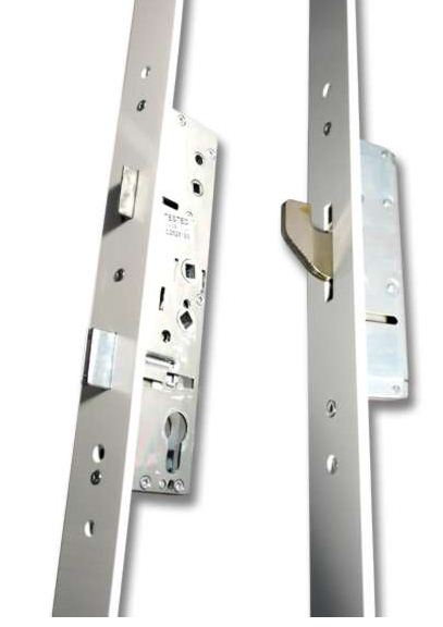 Lockmaster Milamaster Upvc Door Lock 2 Hook 45mm White